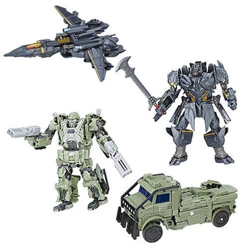 Transformers The Last Knight Premier Voyager Wave 2 SET