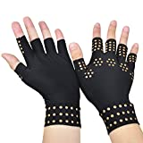 Gent House Arthritis Compression Gloves With Magnets Decrease Pain Ladies Size Small/Medium
