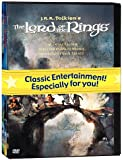 J.R.R. Tolkien Animated Films Set (The Hobbit/The Lord of the Rings/The Return of the King) by Orson Bean