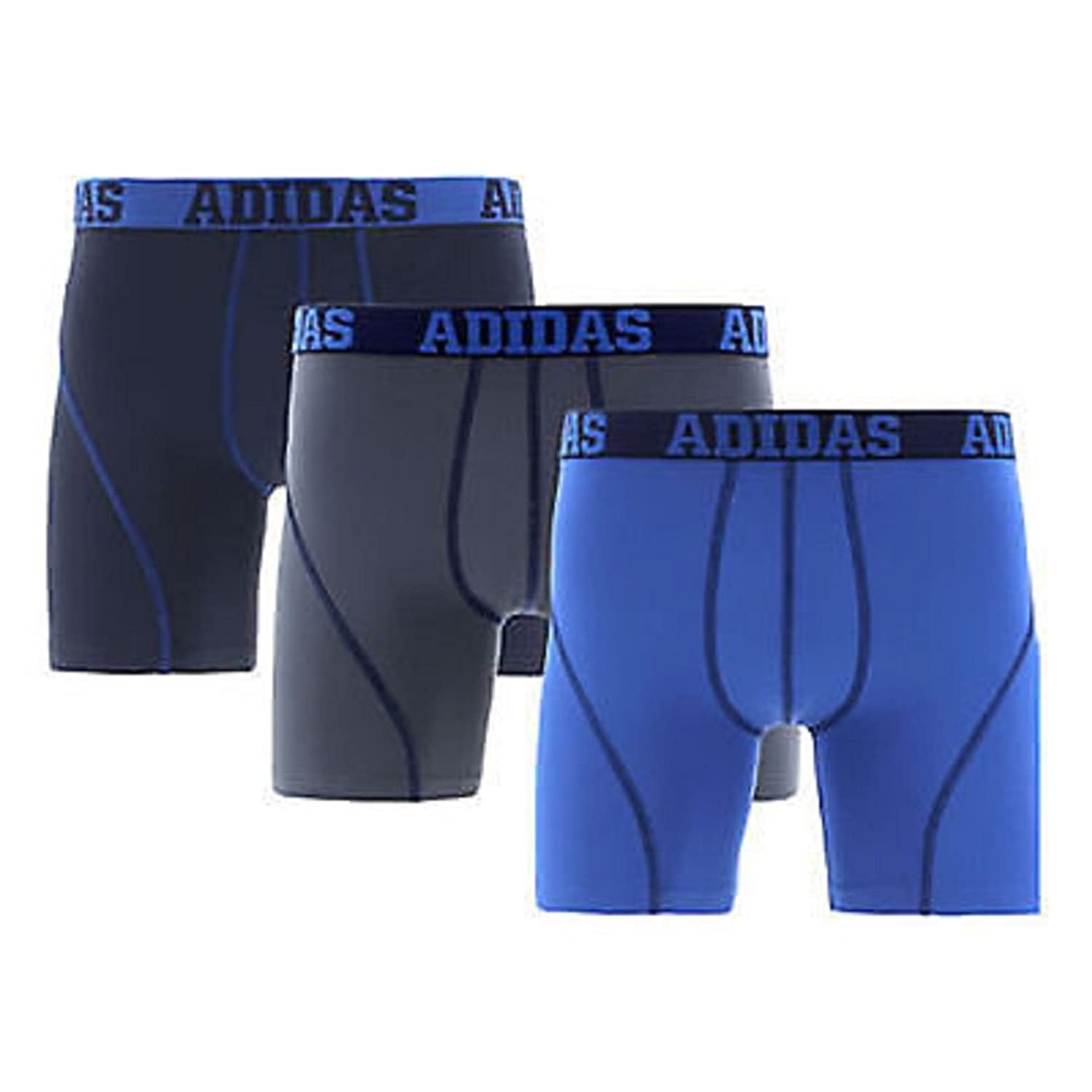 Adidas Mens Climalite Performance Boxer Briefs 3 Pack XL (40-42):  Amazon.co.uk: Clothing