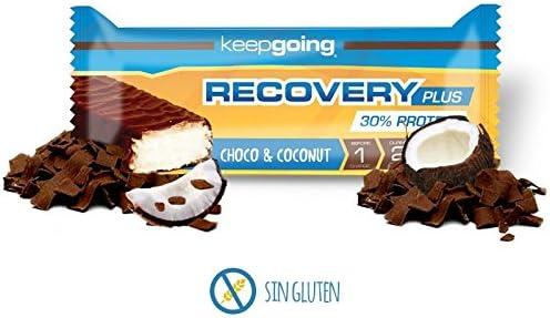 Keepgoing Recovery Plus · Barritas de proteína · Caja de 24 ...