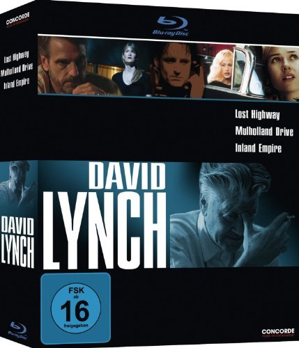 David Lynch Collection: Lost Highway, Mulholland Drive, Inland Empire [Blu-ray] (Region Free) by