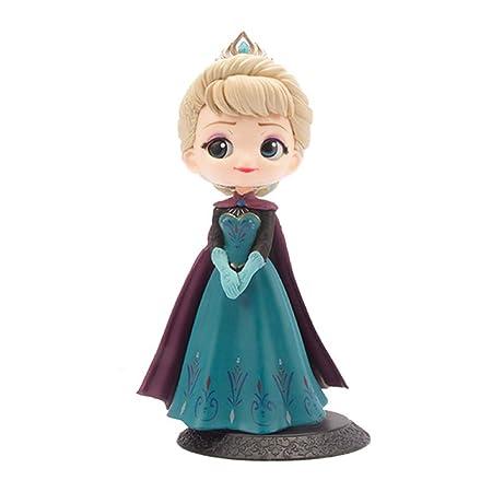 Decoración para tarta de princesa Elsa, decoración para ...