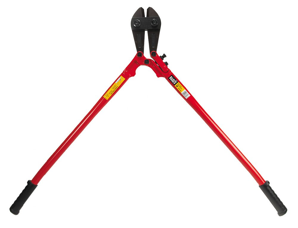 Klein Tools 63336 36-Inch Bolt Cutter - Steel Handles,Black/Red by Klein Tools