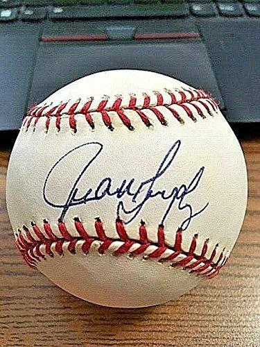 Juan Gonzalez Autographed Ball - 3 OAL ! Rangers Tigers! - Autographed Baseballs (Ball Baseball Oal)