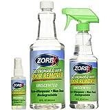 ZORBX Unscented Multipurpose Odor Remover –Safe for All, Even Children, No Harsh Chemicals, Perfumes or Fragrances, Stronger and Safer Odor Remover Works Instantly (Value Pack)