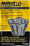 Genie and ShoVac Wet / Dry Vac Multi-Fit Disposable Filter Bags VF2002 - Set of 3