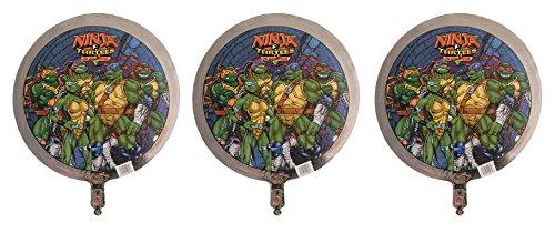 3 Teenage Mutant Ninja Turtles The Next Mutation Mylar Balloons from 1998 - TMNT The Next Mutation (Teenage Mutant Ninja Turtles Venus De Milo)