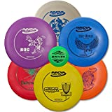Driven Disc Golf - 6 Disc Starter Set - Perfect for Beginners - Includes a FREE BONUS Mini Disc and a 100% Satisfaction Guarantee