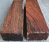 Globalwoods 2 Cocobolo Hardwood Knife Scales Making Blocks Knifesmithing Wood
