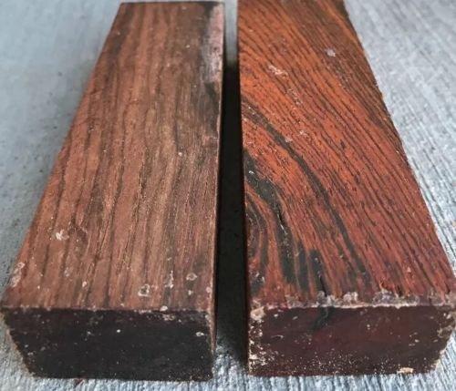 Cocobolo Knife Scales (Globalwoods 2 Cocobolo Hardwood Knife Scales Making Blocks Knifesmithing Wood)