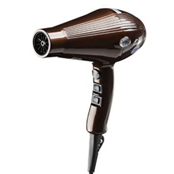 ... Protección De La Temperatura De Generación De Energía Secador De Pelo Inicio Hair Salon Secador De Pelo,Brown: Amazon.es: Deportes y aire libre