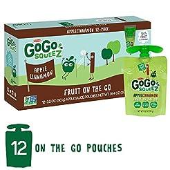 GoGo squeeZ Applesauce on the Go, Apple ...
