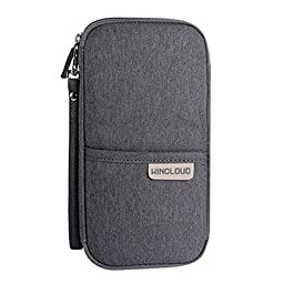 Multi-function Travel Passport Holder Credit Id Card Stash Organizer Case Bag V