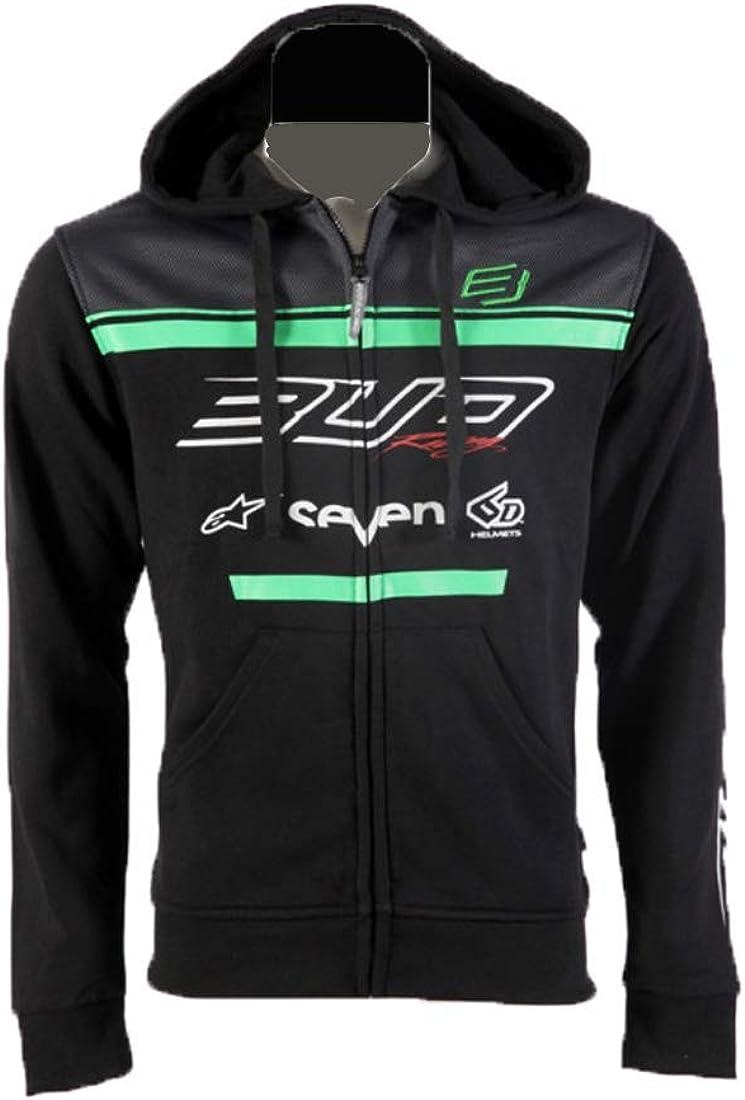 BUD RACING Sweat a Capuche Zip Team Officiel