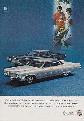Sedan Models (A choice of eleven models Cadillac Sedan De Ville & Eldorado ad 1969 NY)