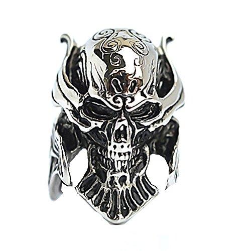RI1210013C6 New Style Titanium Steel Non-Mainstream Punk Plating Men's - Designer Auction Sunglasses