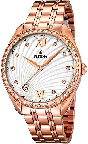 Festina Classic Ladies f16896/1 Wristwatch for women With Zircons