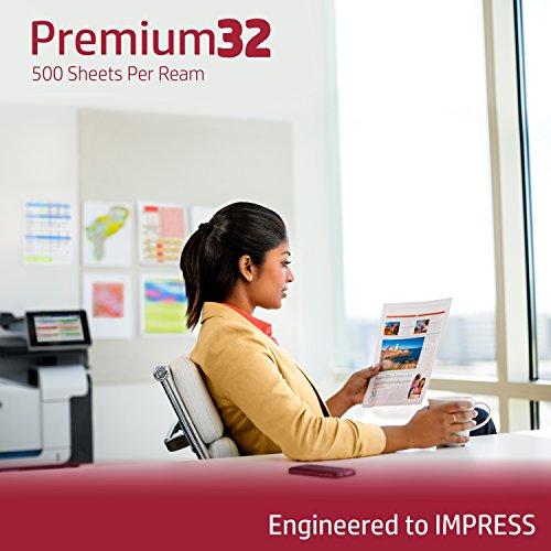 HP Printer Paper, Premium32, 8.5 x 11 Paper, Letter Size, 32 lb Paper, 100 Bright, 1 Ream / 500 Sheets - Presentation Paper, Acid Free Paper (113100R) by HP Paper (Image #5)
