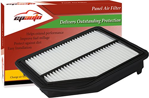 EPAuto GP258 (CA11258 / 17220-R5A-A00) Honda Replacement Extra Guard Rigid Panel Engine Air Filter for CR-V (2012-2014) - Panel Replacement Filter