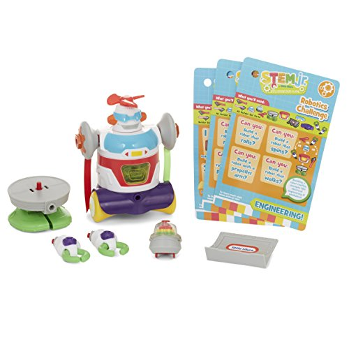 Little Tikes Builder Bot Toy, Multicolor