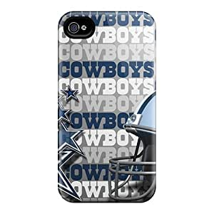 Faddish Phone Dallas Cowboys Cases For Iphone 4/4s / Perfect Cases Covers