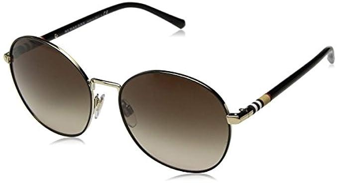 Burberry 0Be3094 12587I 56, Gafas de Sol para Mujer, Dorado ...