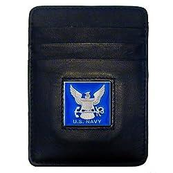 Navy Money Clip/Cardholder