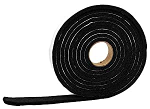 "AP Products 018-143817 1/4"" x 3/8"" Vinyl Foam Tape"