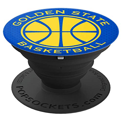 PopSockets: Golden State Basketball - PopSockets Grip and Stand for Phones and Tablets