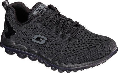Skechers Skech-Air 2.0 - Aim High Training Sneaker Shoe - Black - Womens - 9.5