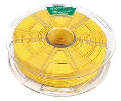Filamento PLA 1000g 1,75mm para impresoras 3D (Amarillo): Amazon ...
