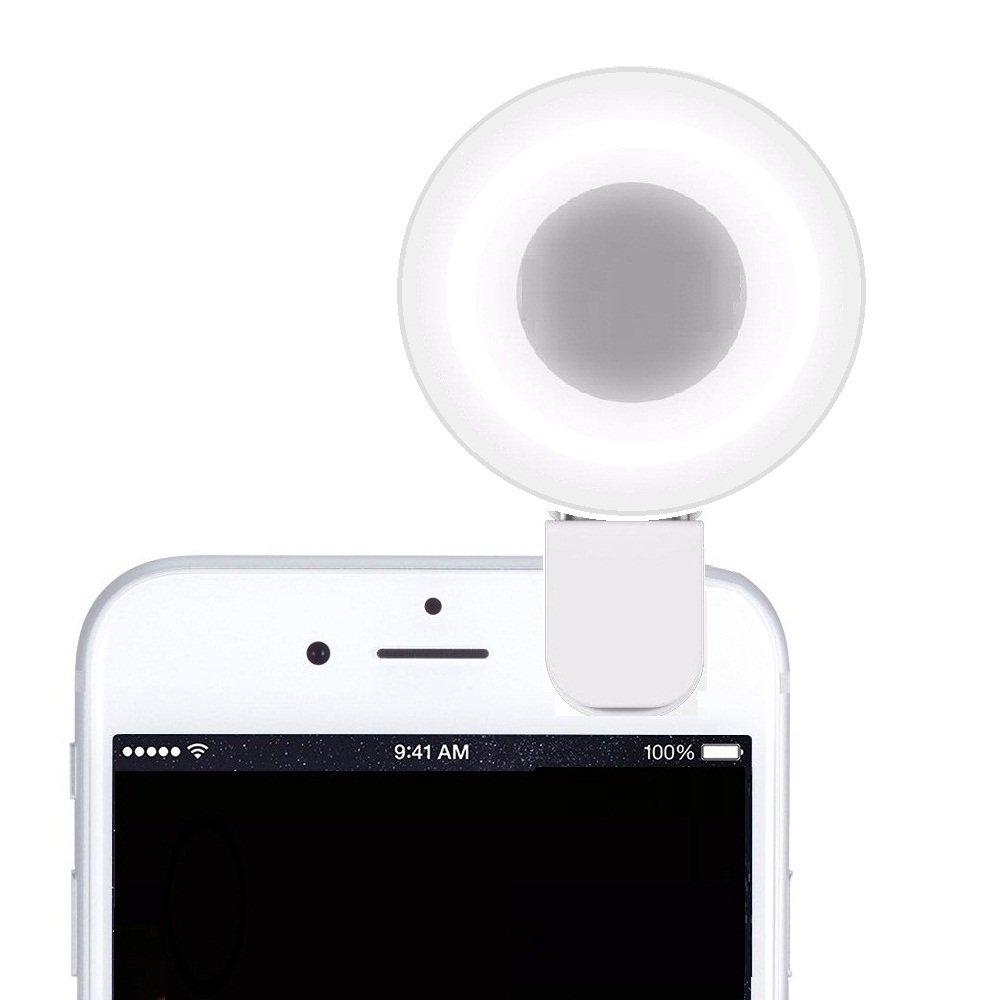 Cyxus [Clip to The Device] Round Portable Mini Spot
