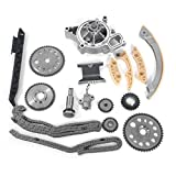 Fit Chevrolet Saturn Pontiac Engine Timing Chain Kit w/ Water Pump for 2.2L 2.4L 00 01 02 03 04 05 06 07 08 09 10 11