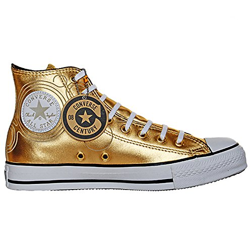 Converse All Star Klauwplaten Eu 39,5 Uk 6,5 Goud Limited Edition Leder Rar 106023 ...