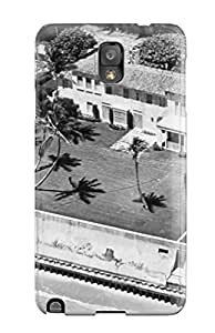 Flexible Tpu Back Case Cover For Galaxy Note 3 - Photography Black And White