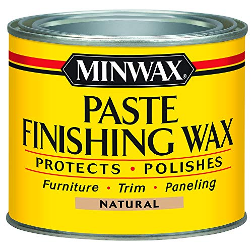Minwax 785004444 Paste Finishing Wax, 1-Pound, - Block Felt Wool