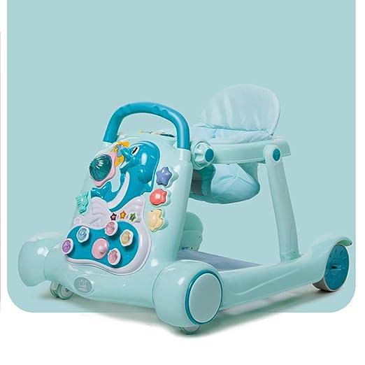 LFY Andador para bebés con música, Andador Multifuncional ...