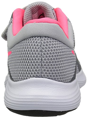 Nike Girls' Revolution 4 (PSV) Running Shoe, Wolf Racer Pink-Cool Grey-White, 2Y Child US Little Kid by Nike (Image #2)