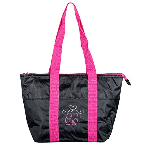 Ballet Embroidered Tote - 7