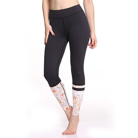 LiXiZhong Pantalones De Yoga para Mujeres Cintura Alta ...