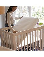 """Breeze Mini Crib (24""""x38"""") Mattress w/Removable Protector (Fits Mini Cribs)"""