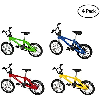 Toys & Hobbies Strong-Willed Color Randmonly Mini Finger Bikes Boy Toy Creative Game Bmx Bike Toys Model Bicycle Fixie With Spare Tire Tools Gift Mini Skateboards & Bikes