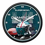NFL Philadelphia Eagles Super Bowl LII Champions Round Wall Clock