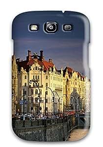 Durable Vltava River Czech Republic Back Case/cover For Galaxy S3