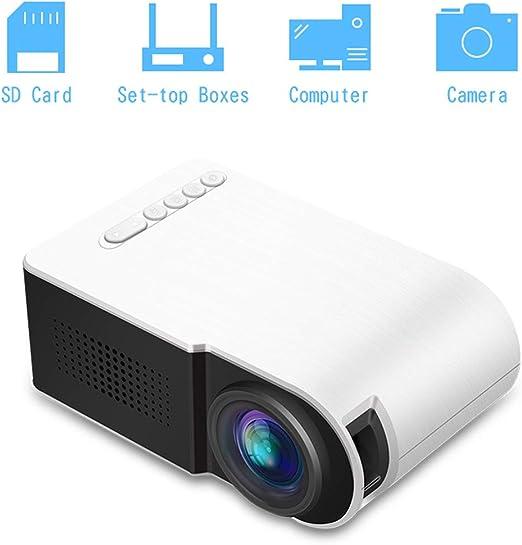 Mini Proyector Portátil, Proyector De Video De 20-60 Pulgadas ...