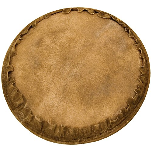 Natural Unbleached Goatskin Djembe Head - 13 inch. - 13 inch. - Tycoon Percussion (Djembe Natural)