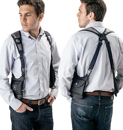 mobile phone shoulder holster uk
