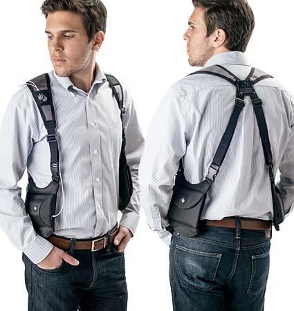 mobile phone shoulder holster uk