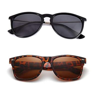 Amazon.com: Gafas de sol polarizadas clásicas para hombre y ...